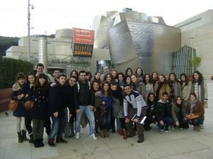 Alumnos de visita al Museo